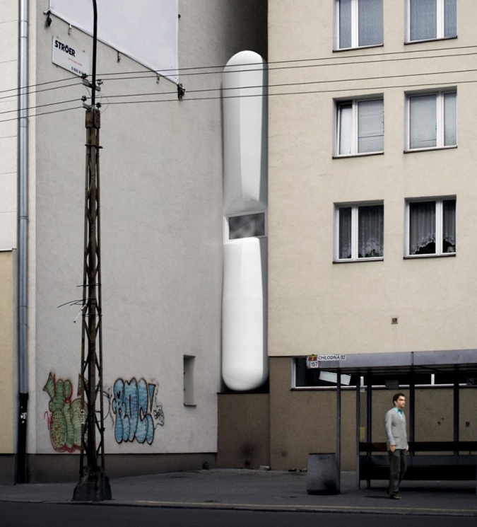 Worlds skinniest house, Keret house in Poland.