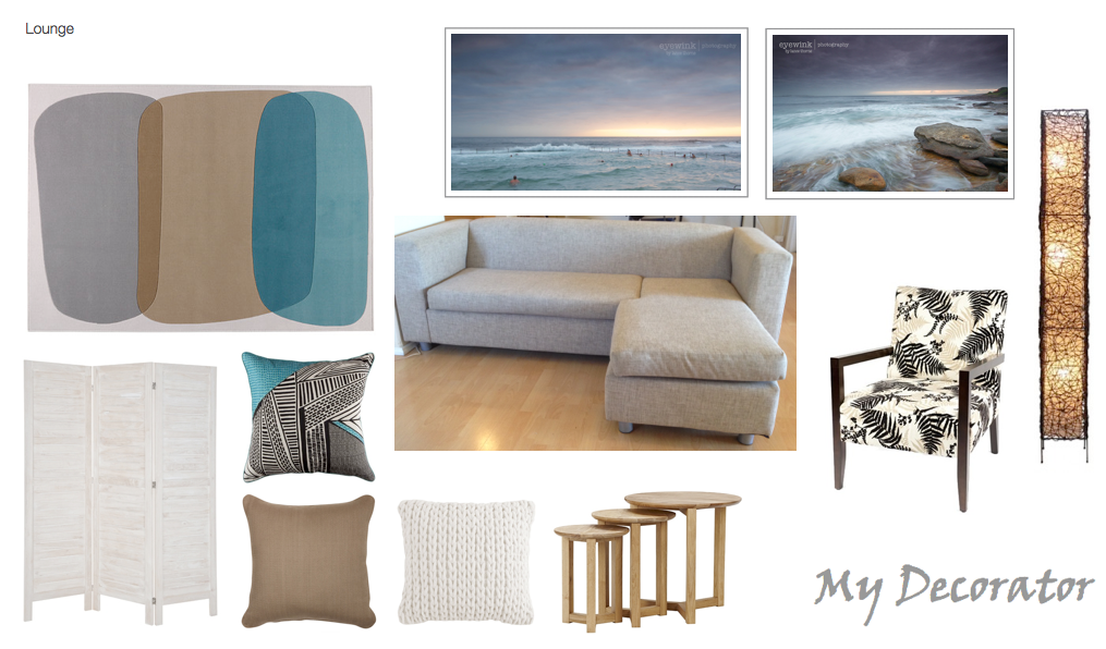 Lounge Digital Moodboard