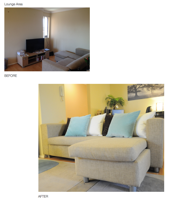 Lounge - Before and Afters