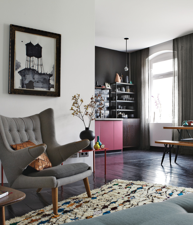 Berlin Apartment Interior  Designer Peter Fehrentz.